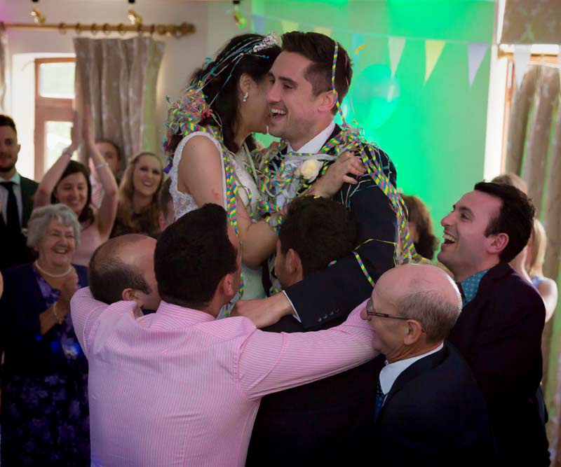 First dance photo at London Italian wedding
