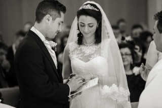 Italian wedding ceremony London and Woking