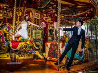 London wedding carousel image