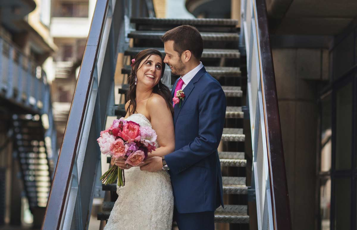 Wedding photo Butlers Wharf London