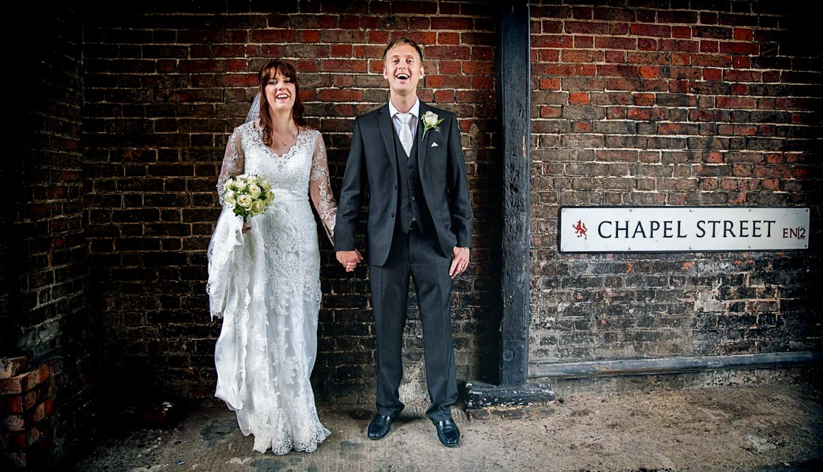 banner image for Enfield wedding shots