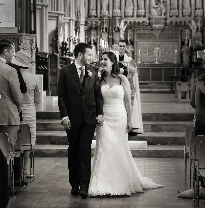 wedding recessional Southwark Cathedral