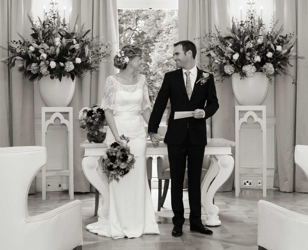 Mandarin Oriental London wedding ceremony