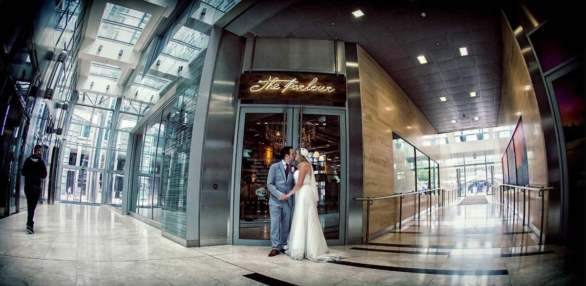 Wedding at the Parlour Bar London