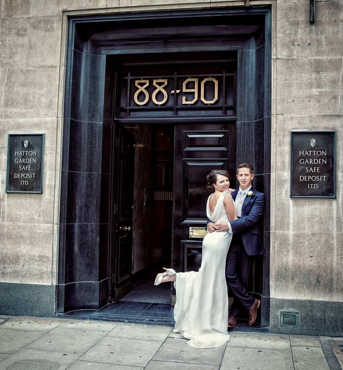 Hatton Garden safety deposit wedding job 1