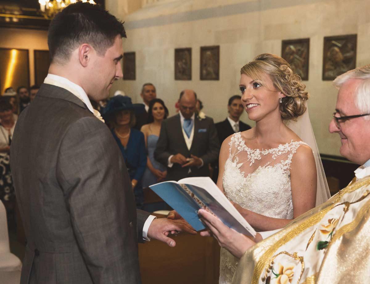 Islington church marriage ceremony