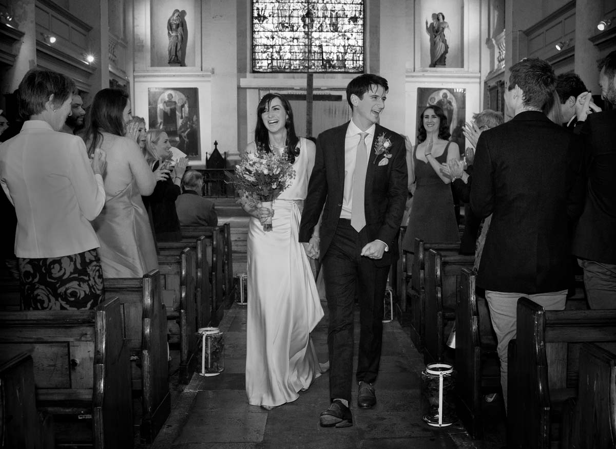 Just married at Shoreditch church image