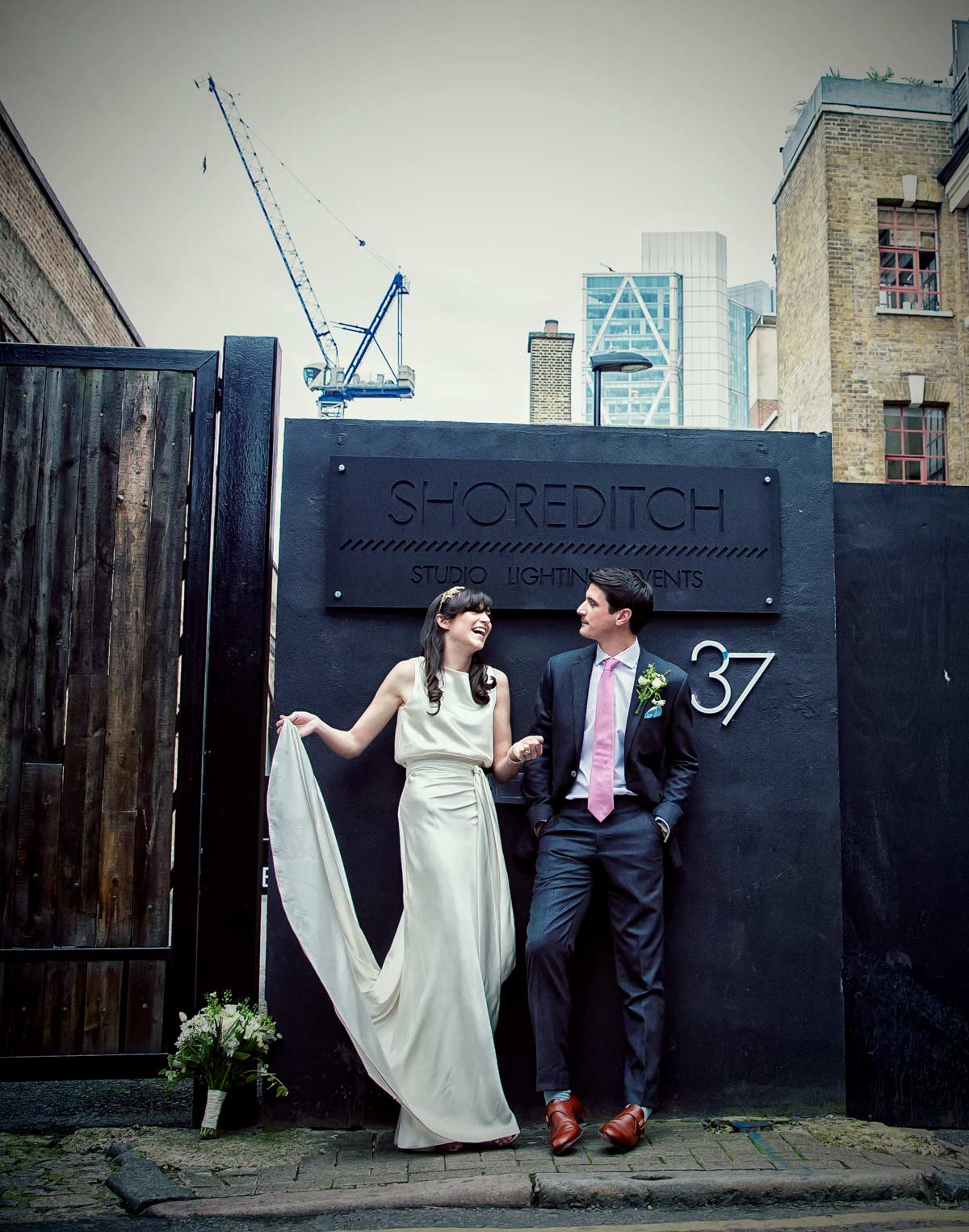 Wedding at Shoreditch Studios East London