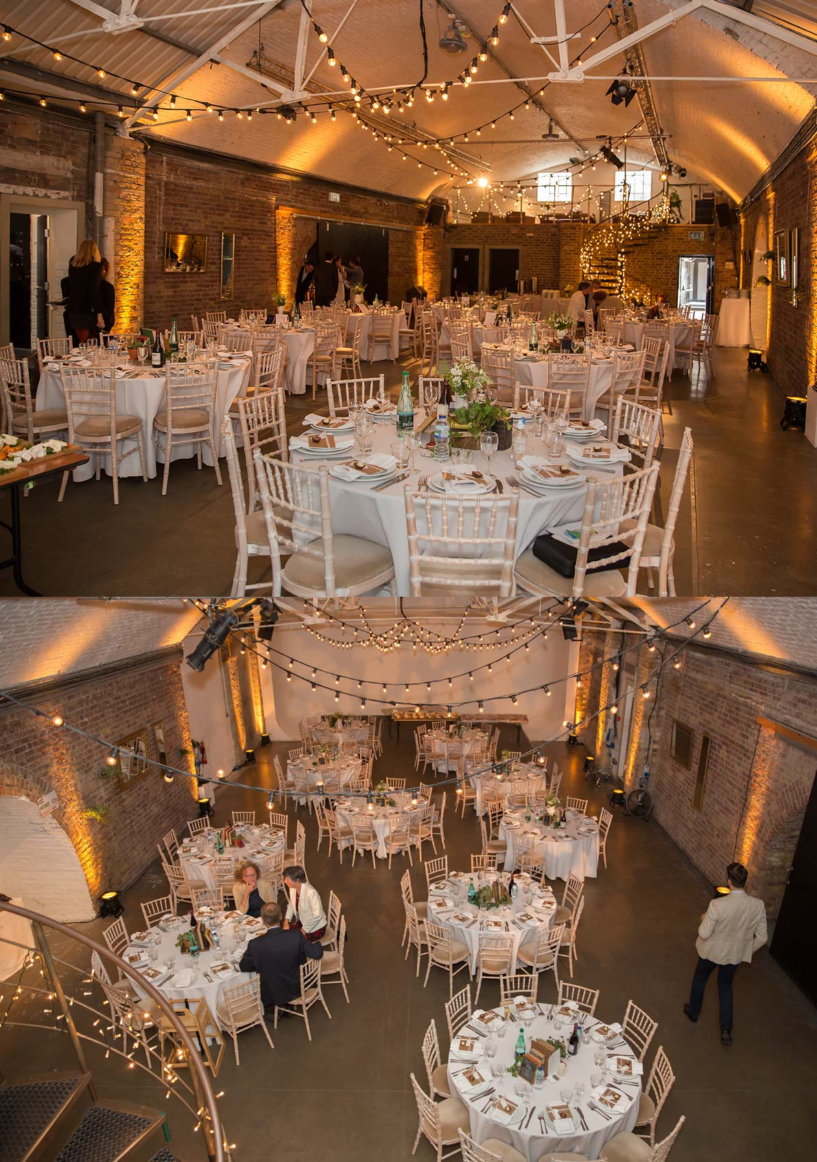 Wedding reception at Shoreditch Studios