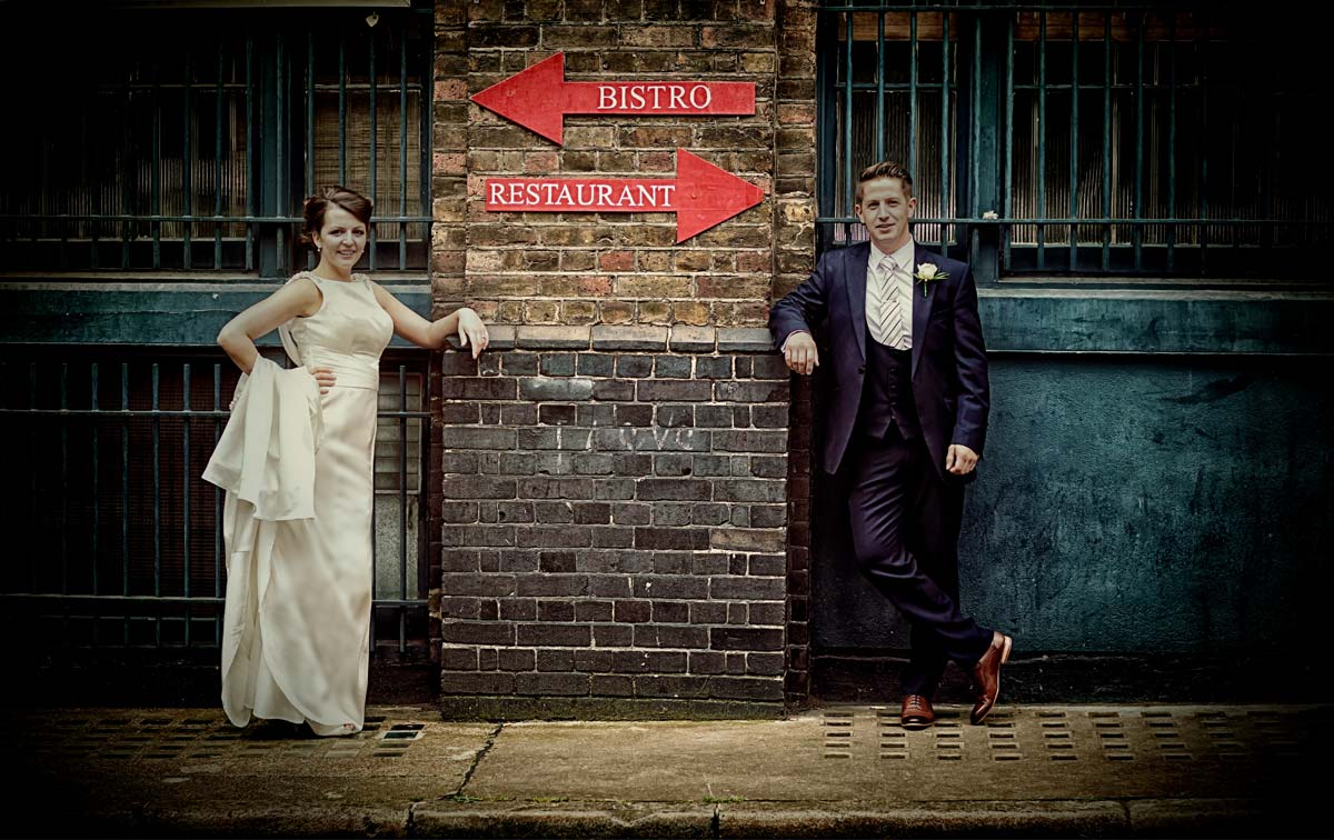 Camden Town Hall Wedding, then Bounce near Hatton Garden, and reception by Camden Lock London Wedding Photographers