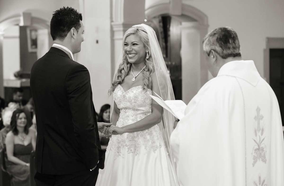 wedding ceremony in Bishops Stortford