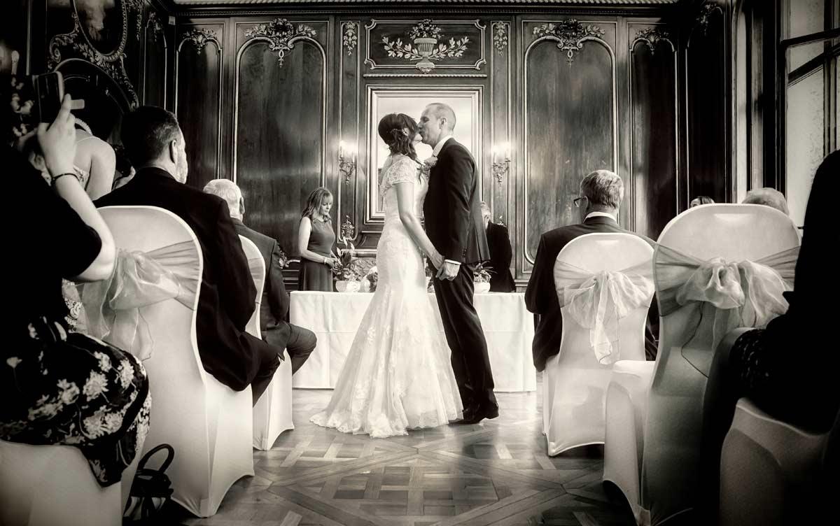 wedding ceremony at Princes Gate Kensngton London photo