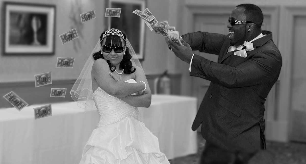 Hendon Hall wedding photo