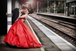 London_train_station_image_retro_wedding