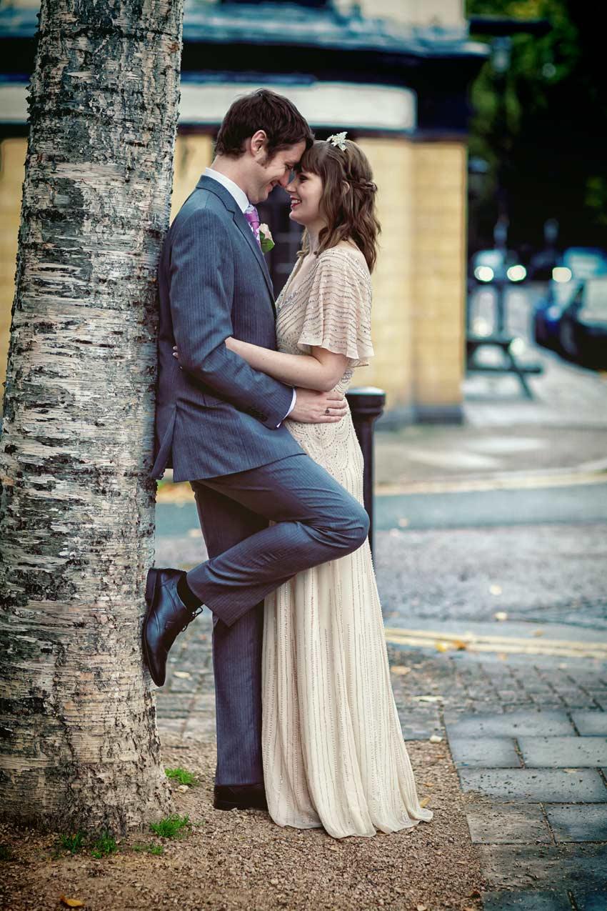 kissing near Peasant Pub London