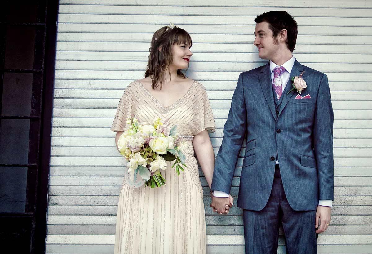 wedding couple in love Clerkenwell London