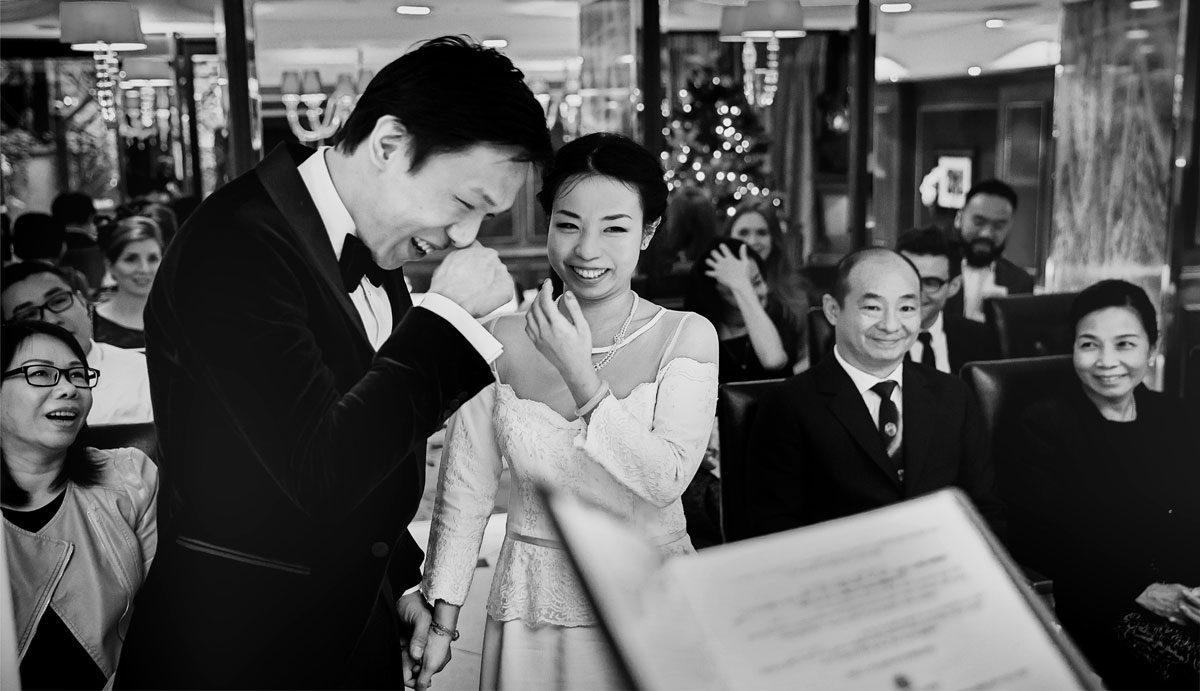 wedding ceremony image from Goring Hotel ceremony