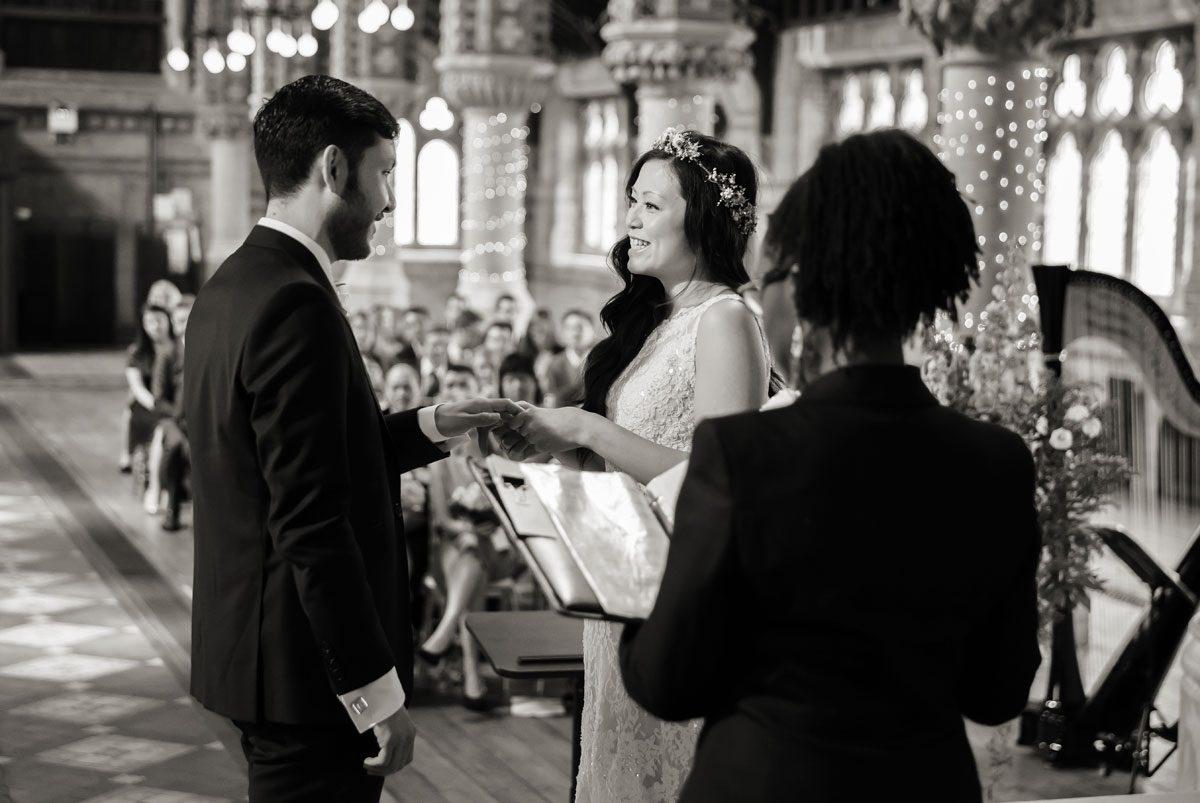 wedding ceremony St Stephens Hampstead