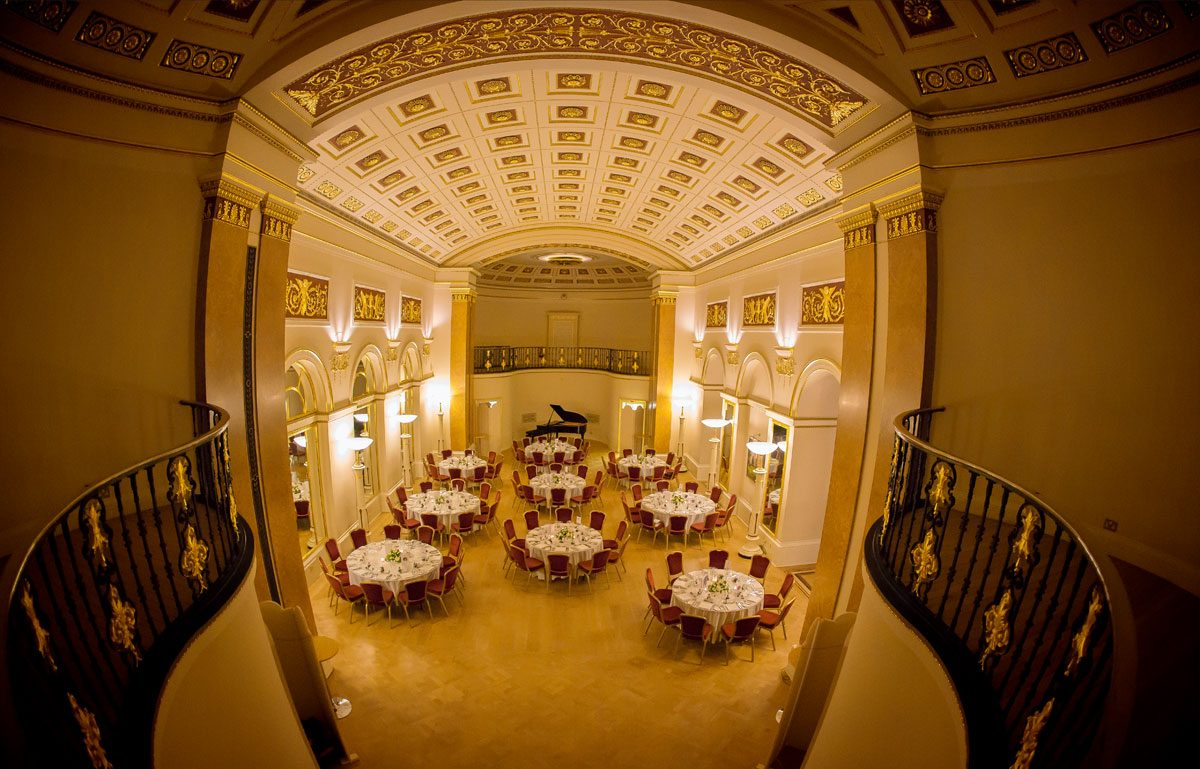 Lansdowne Club reception in Ballroom photo Mayfair