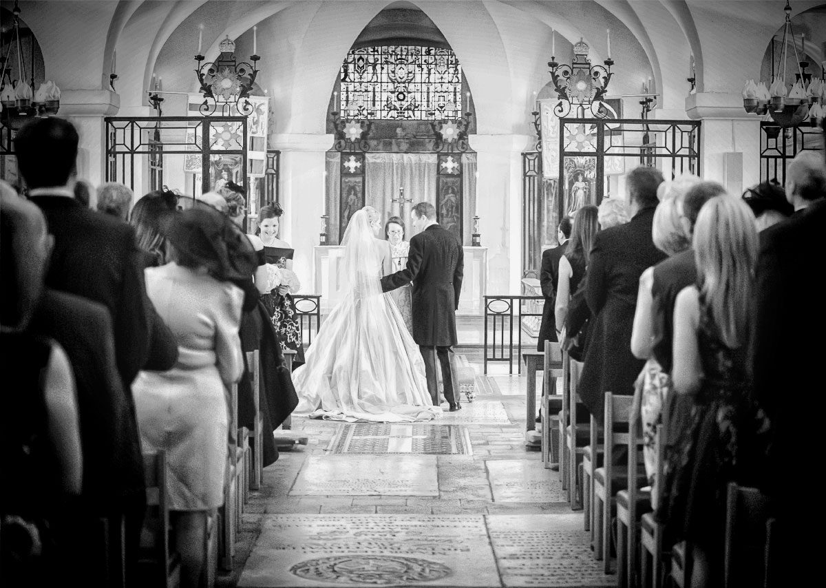 St Pauls Cathedral wedding ceremony OBE Chapel photo