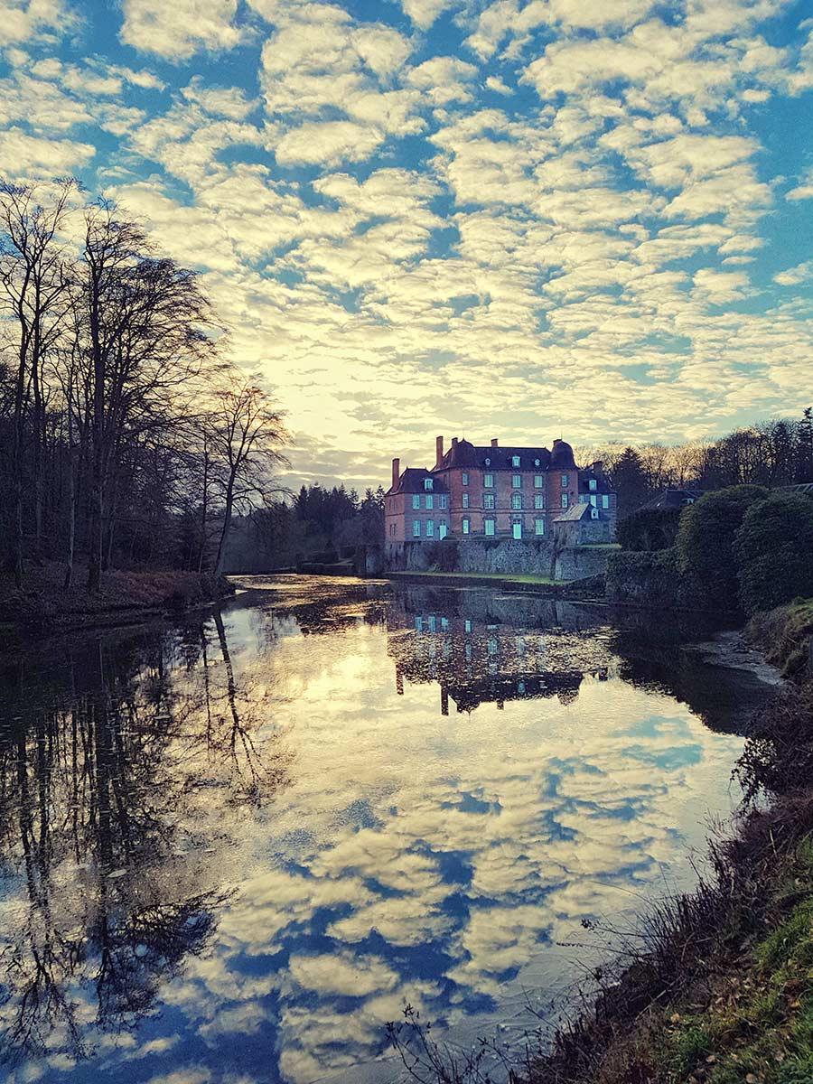 French wedding photographer chateau photo