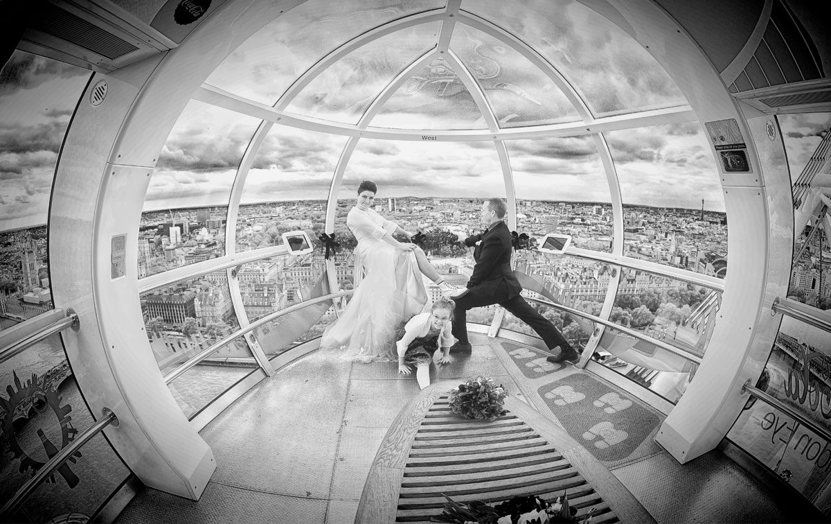 Ultimate London Eye wedding photographers photo