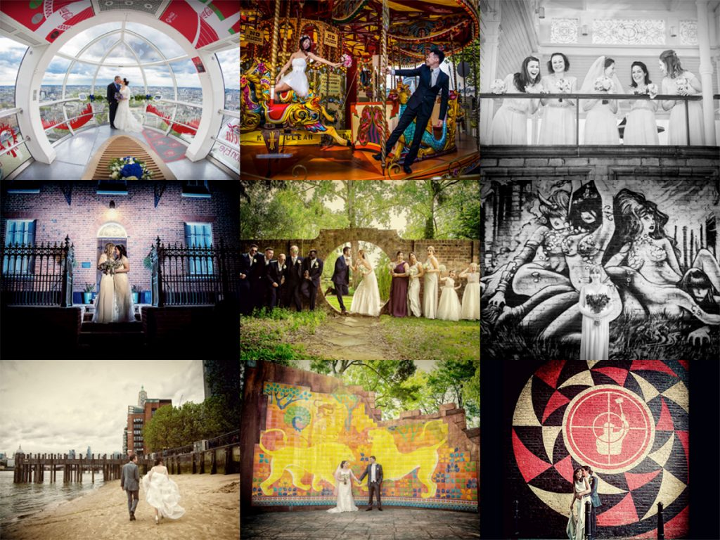 London-wedding-photography-collage-image