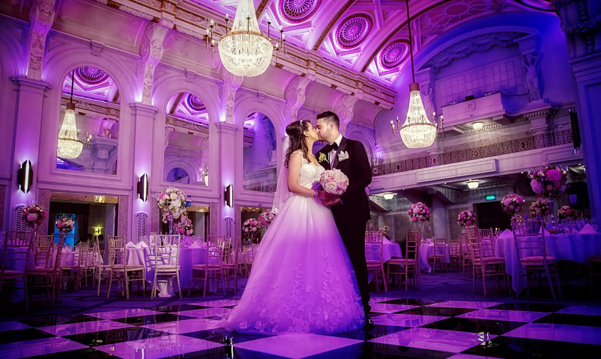 First dance atGrand Connaught Rooms wedding image 2