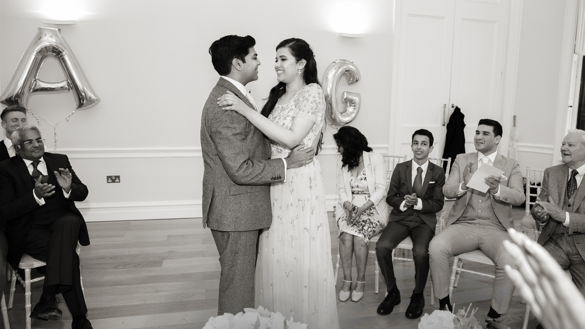 Asia House wedding ceremony photo