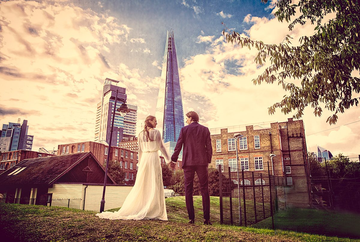 Tanner warehouse wedding at the Shard photo