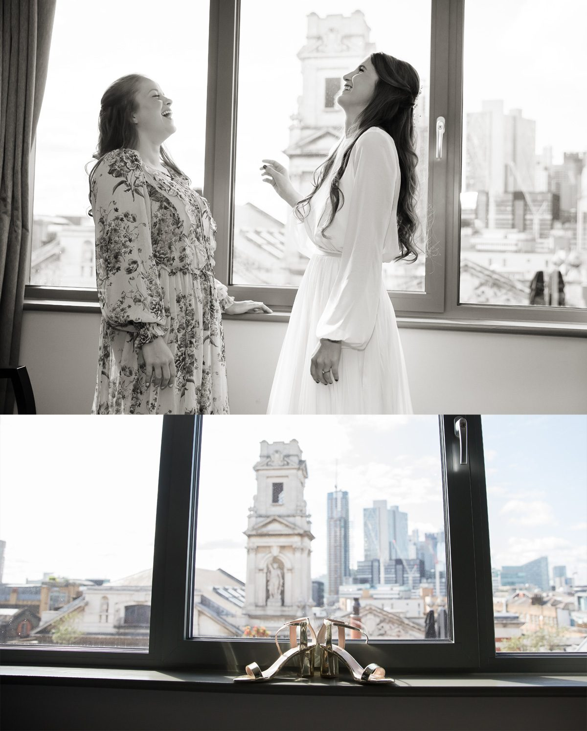 Bridal preparation at Courthouse Hotel London
