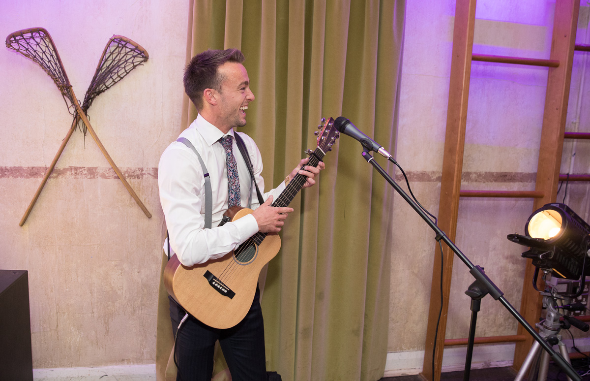 Guitarist at Tanner House wedding London