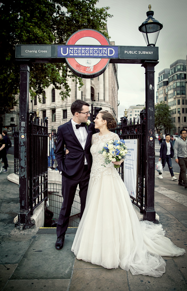 St George's Cathedral & Gherkin wedding photographers London Wedding Photographers