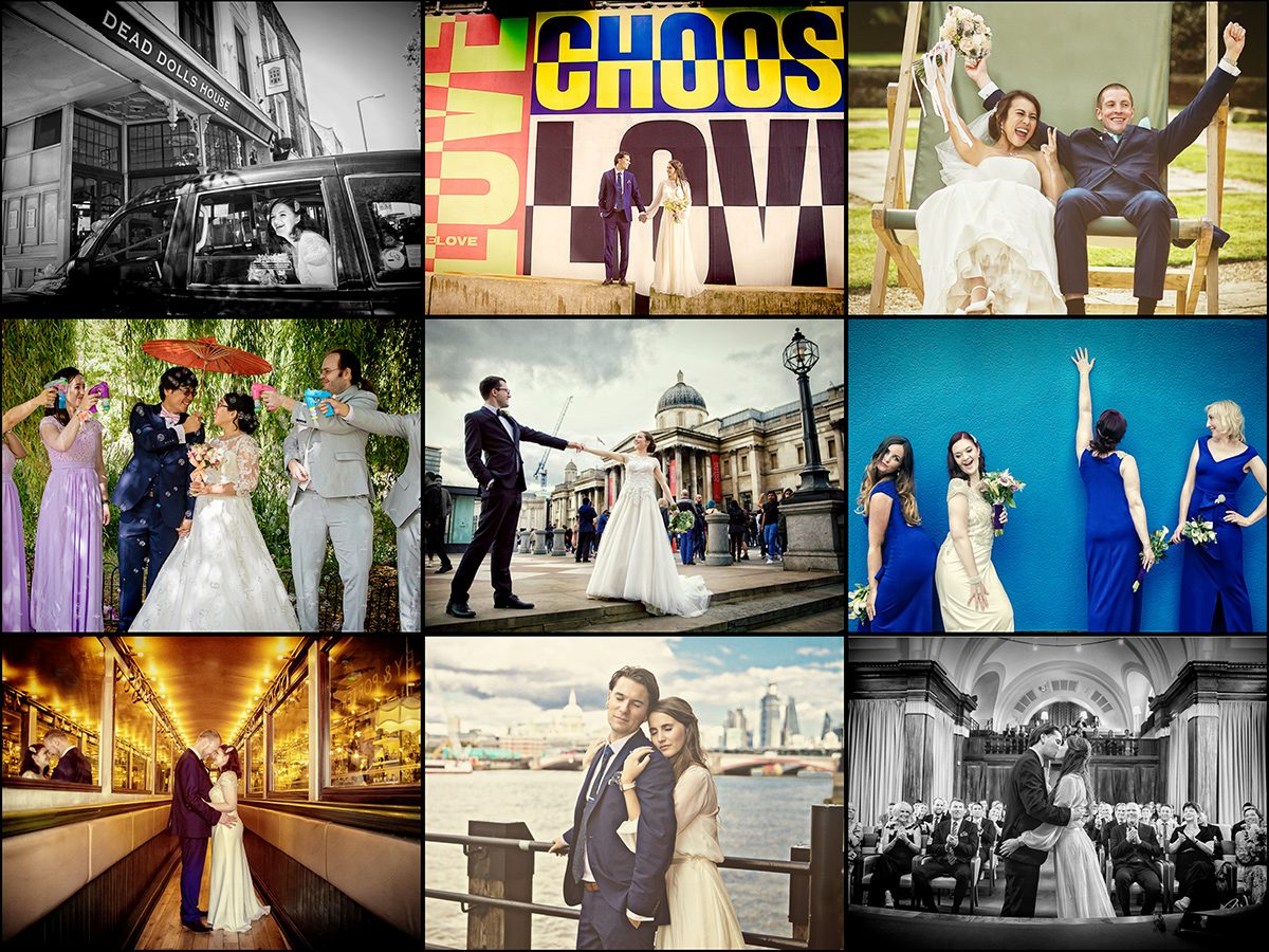 Was this our best year ever? 12 months of wedding photography inside... London Wedding Photographers