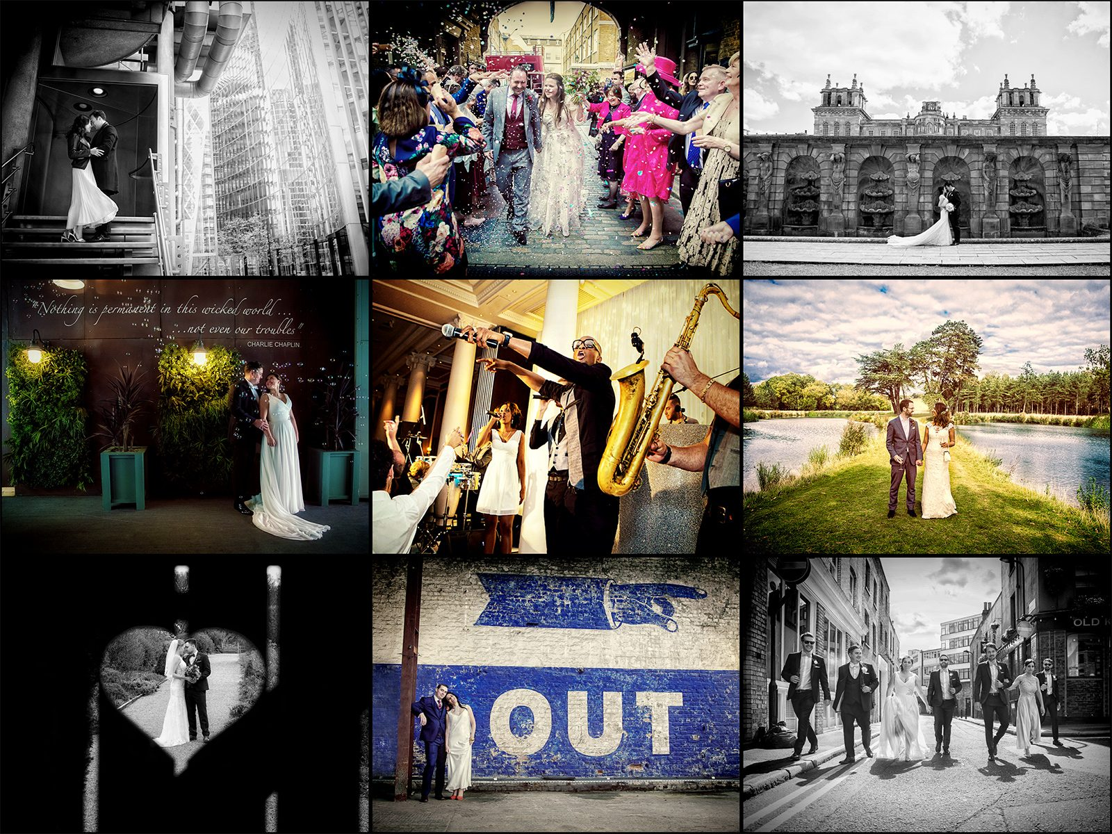 More of our favourite wedding images from in and around London in the past year London Wedding Photographers