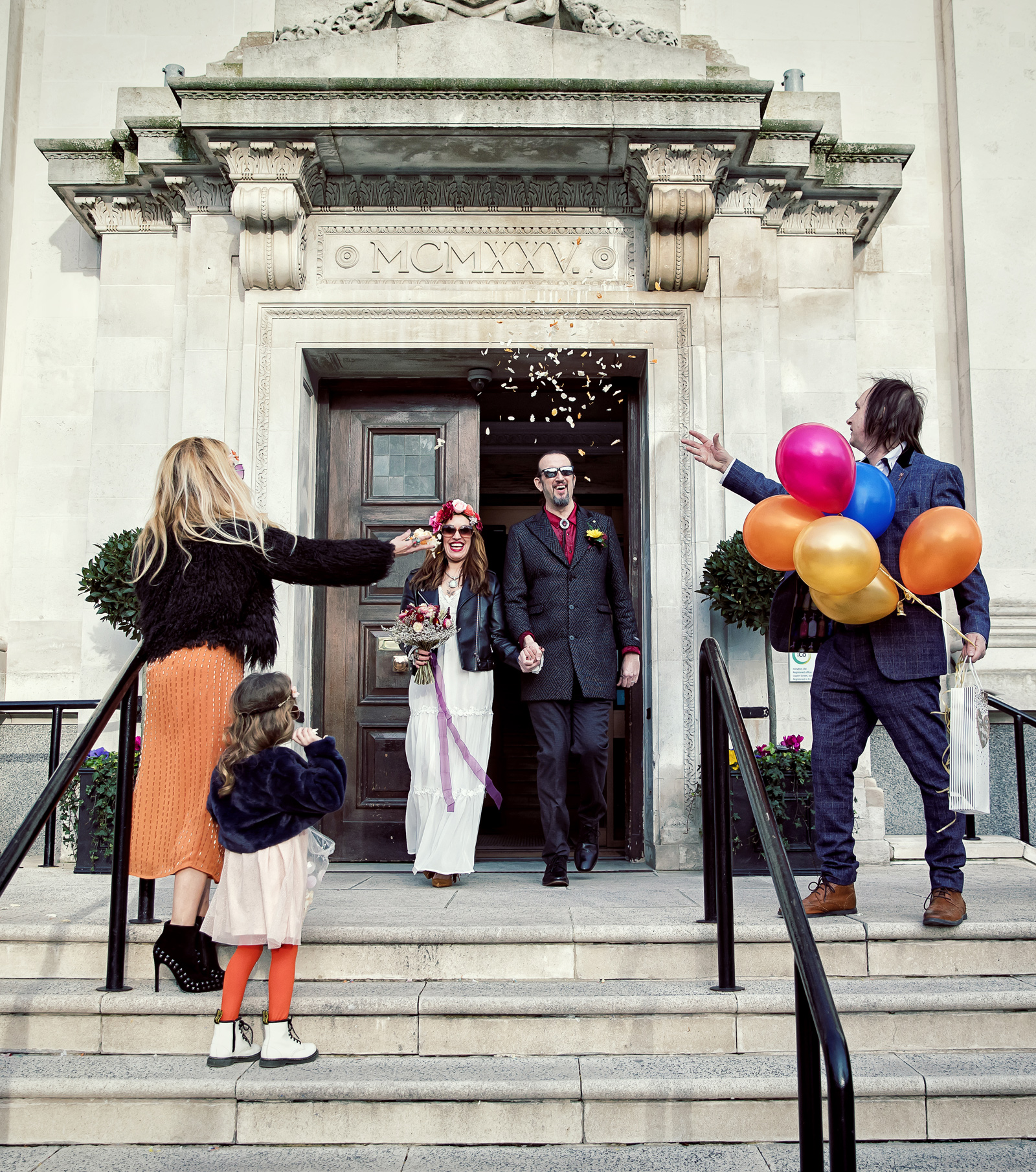 Last ever Islington Town Hall Wedding...before lockdown London Wedding Photographers